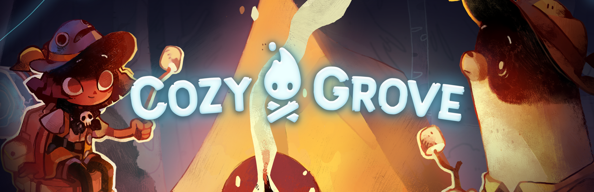 A title card for the game Cozy Grove.